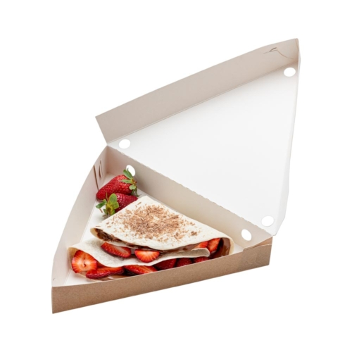 Triangle crepe box