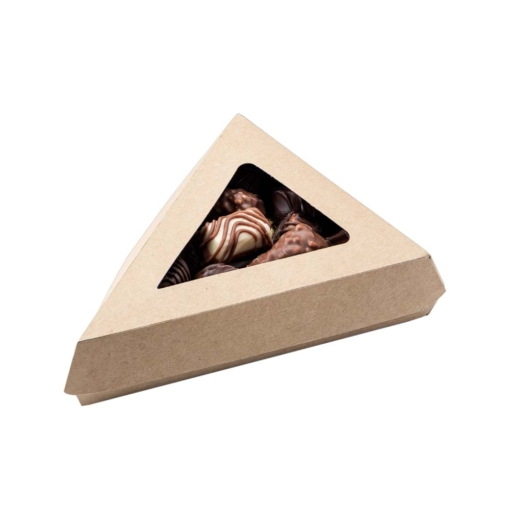 Mini triangle box with window